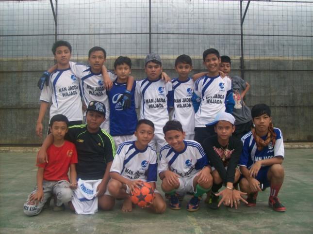 DTW Kampoeng Santri Al Ikhlas sebagai Runner Up Liga Kampoeng Santri (LKS) 2012