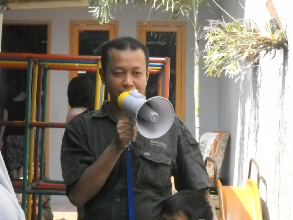 Orasi dari Pembina Kampoeng Santri membuka Paksi VIII