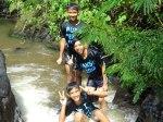 Hiking_Ceria di Sungai