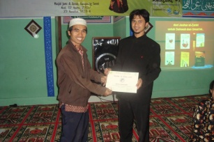 Lurah Kampoeng Santri bersama Kang Jauhar al Zanki